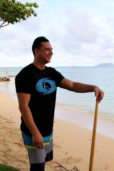 outrigger canoe t-shirt